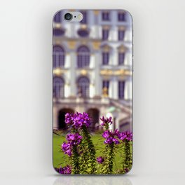 Flowers of castle Nympfenburg iPhone Skin