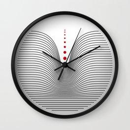 Minimal Drop Wall Clock