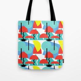 Postmodern Forrest Tote Bag