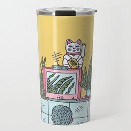 Neon Asia Travel Mug