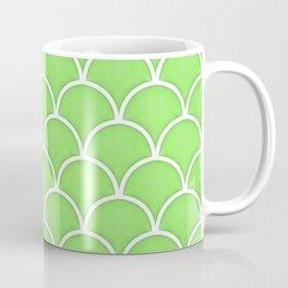 Green Flash large scallop pattern Coffee Mug