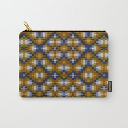 Toffee pixels - pattern Carry-All Pouch