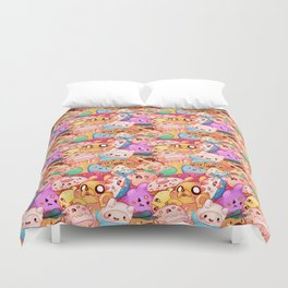 What time is it! Duvet Cover