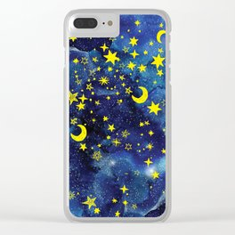 Stars That Can Laugh Clear iPhone Case