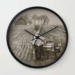 Dr. Pierce, Snakeoil Salesman Wall Clock