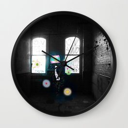Lantern in Room Wall Clock