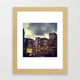 midtown Framed Art Print