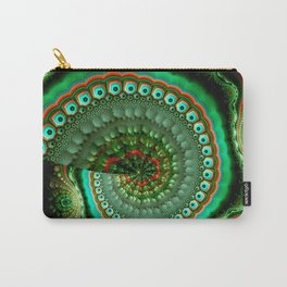 Pretty eyes, swirling pattern abstract Carry-All Pouch