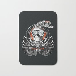 The One Who Sold the World (black wings) Bath Mat