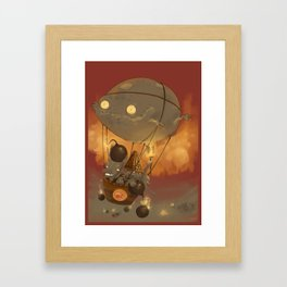 Goblin Balloon Brigade Framed Art Print