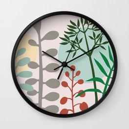Ibiza flowers 17 Wall Clock