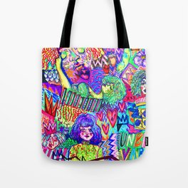 Girls These Days Tote Bag