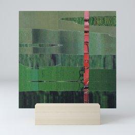 green scan 4 Mini Art Print