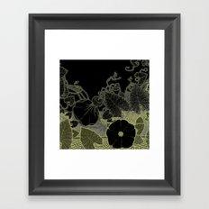 Art nouveau background Framed Art Print