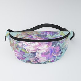 Deconstructed Floral Fanny Pack