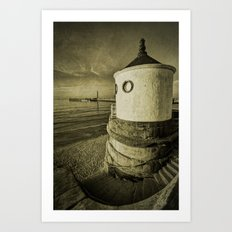 Whitby Round House Art Print