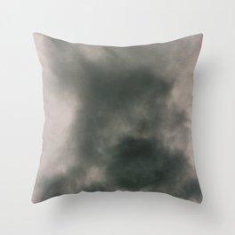 S M O K E Throw Pillow