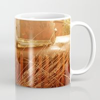 history Mugs featuring History by Urban Frame Photography