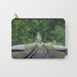 Forest Railroad Carry-All Pouch