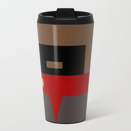 Captain Sisko - Minimalist Star Trek DS9 Deep Space Nine - Trektangle - Trektangles startrek Travel Mug