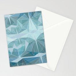 Winter geometric style - minimalist Stationery Cards