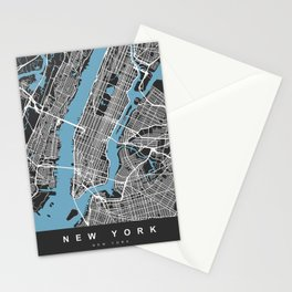 New York Map | BlackII | More Colors, Review My Collections Stationery Cards