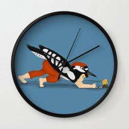 Little Woodpecker Wall Clock