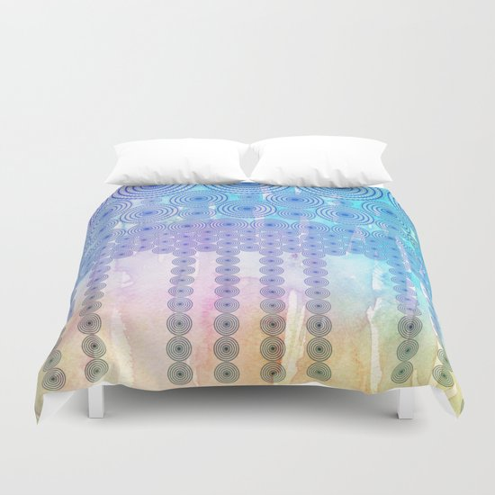 Ring Falls Duvet Cover