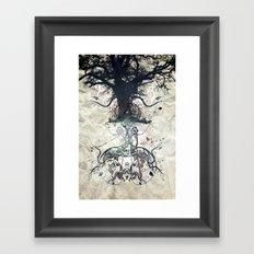 Triad Framed Art Print