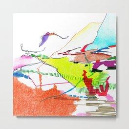 Landscape Sketch 1 Metal Print