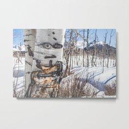 Mr. Telluride B. Aspen Metal Print