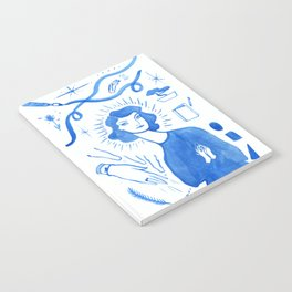 Blue Charms Notebook