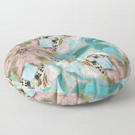 Baby Sea Turtle Floor Pillow