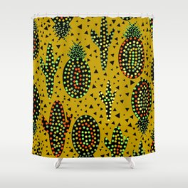 Cacti and pineapples Shower Curtain