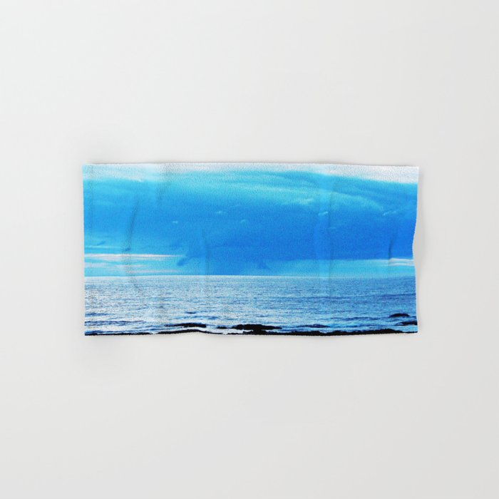 Storm Funnels Above the Sea Hand & Bath Towel