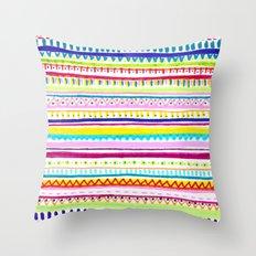 Summer Anxiety Throw Pillow
