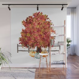 Woodland Autumn Wall Mural