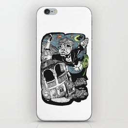 One of those flying dreams iPhone Skin