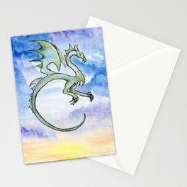 Sea Dragon at Sunrise Stationery Cards