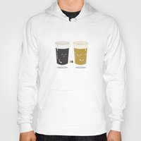 ashton irwin Hoodies featuring Cheers! by Terry Irwin