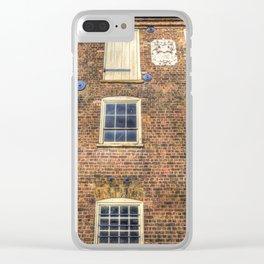 Georgian London Clear iPhone Case