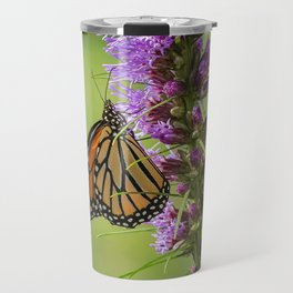 Summer Monarch Butterfly Travel Mug