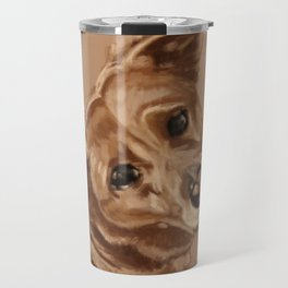 Puppy Dog Eyes Travel Mug
