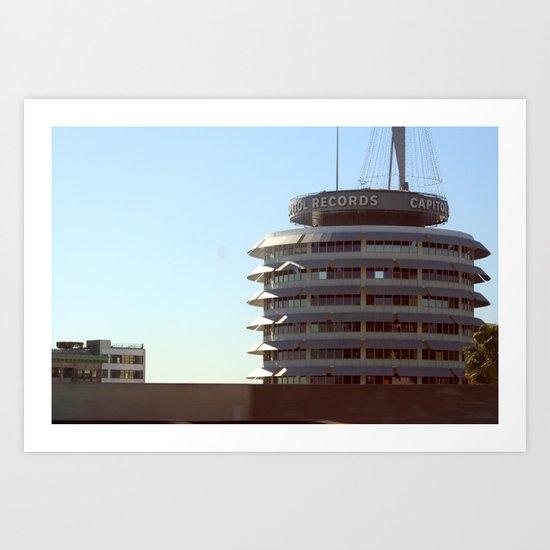Capitol Records Art Print