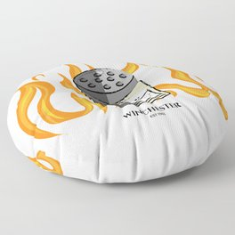 Salt & Burn Pest Control Floor Pillow