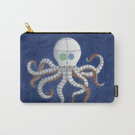 Octopus Steampunk Art Carry-All Pouch
