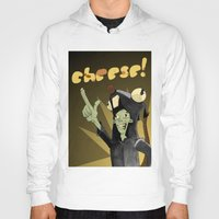 cheese Hoodies featuring CHEESE! by M.Holmes