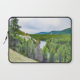 Altai mountains. River Argut. Beautiful highland landscape. Russia. Siberia Laptop Sleeve