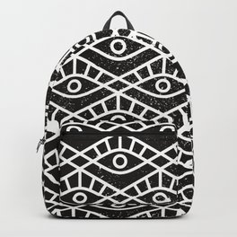 You are watched (Geomteric Eye Pattern) Backpack