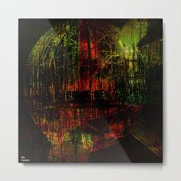 Atomium 58 Metal Print